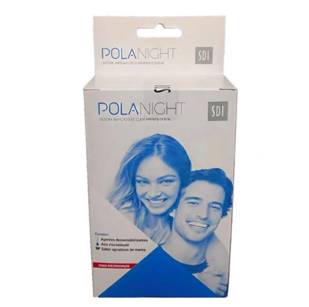 Clareador Dental Polanight 22% SDI - Kit com 9 seringas