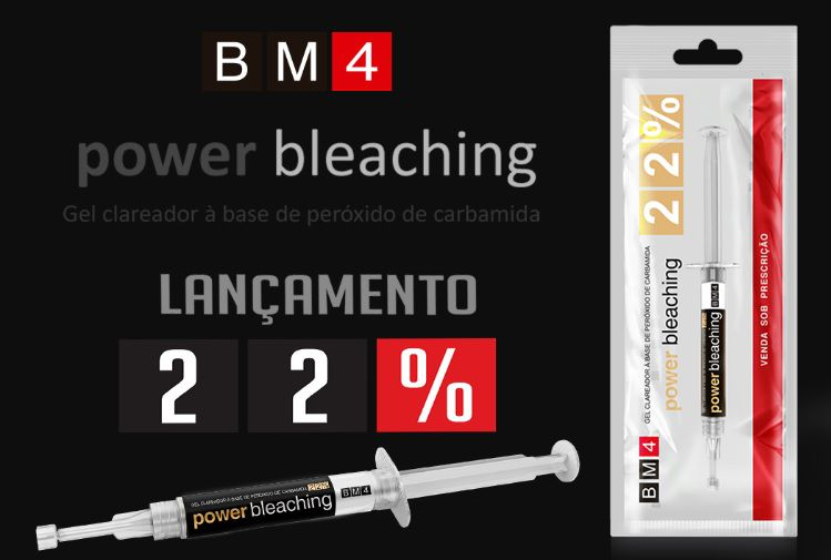 Clareador Dental Power Bleaching 22% - BM4