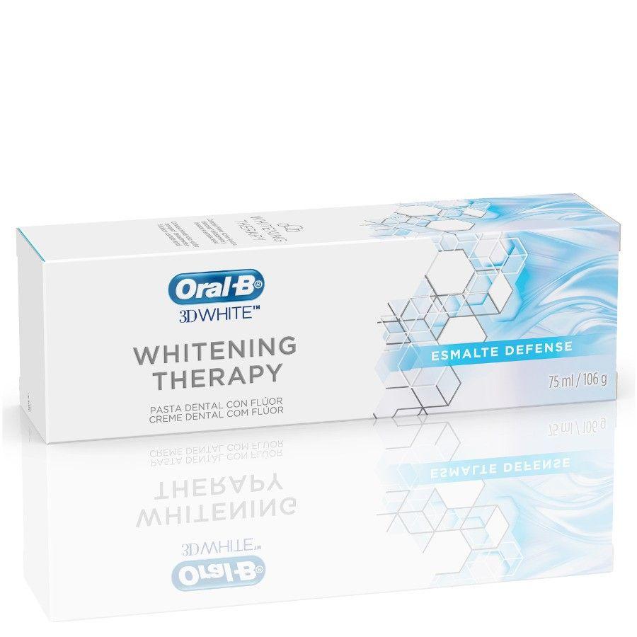 Creme Dental 3D Whitening Therapy Esmalte Defense 106g - Oral-B