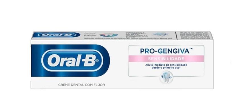 Creme Dental com Flúor Pró-Gengiva Sensibilidade - Oral-B