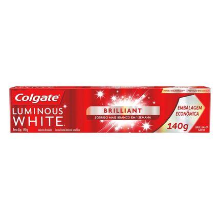 Creme Dental Luminous White Brilliant Colgate - 140g