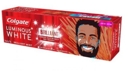 Creme Dental Luminous White Brilliant Colgate - 70g