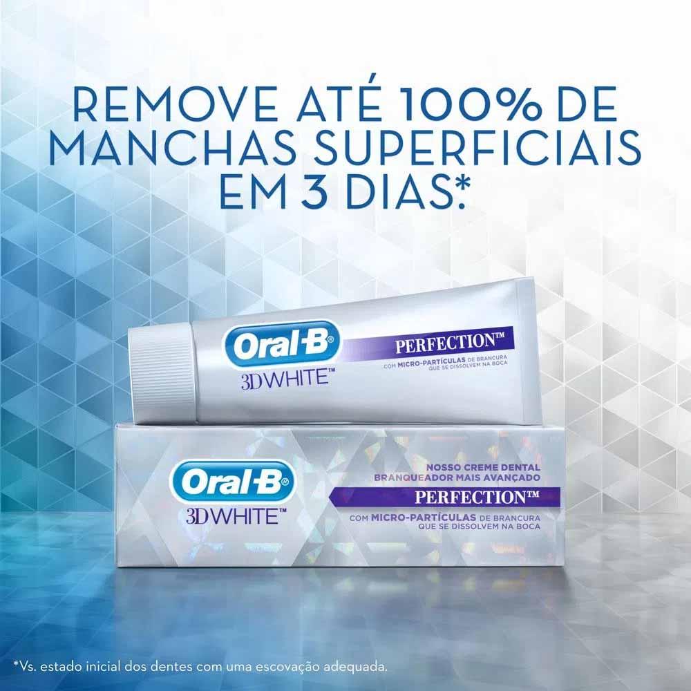 Creme Dental Oral-B 3D White Perfection
