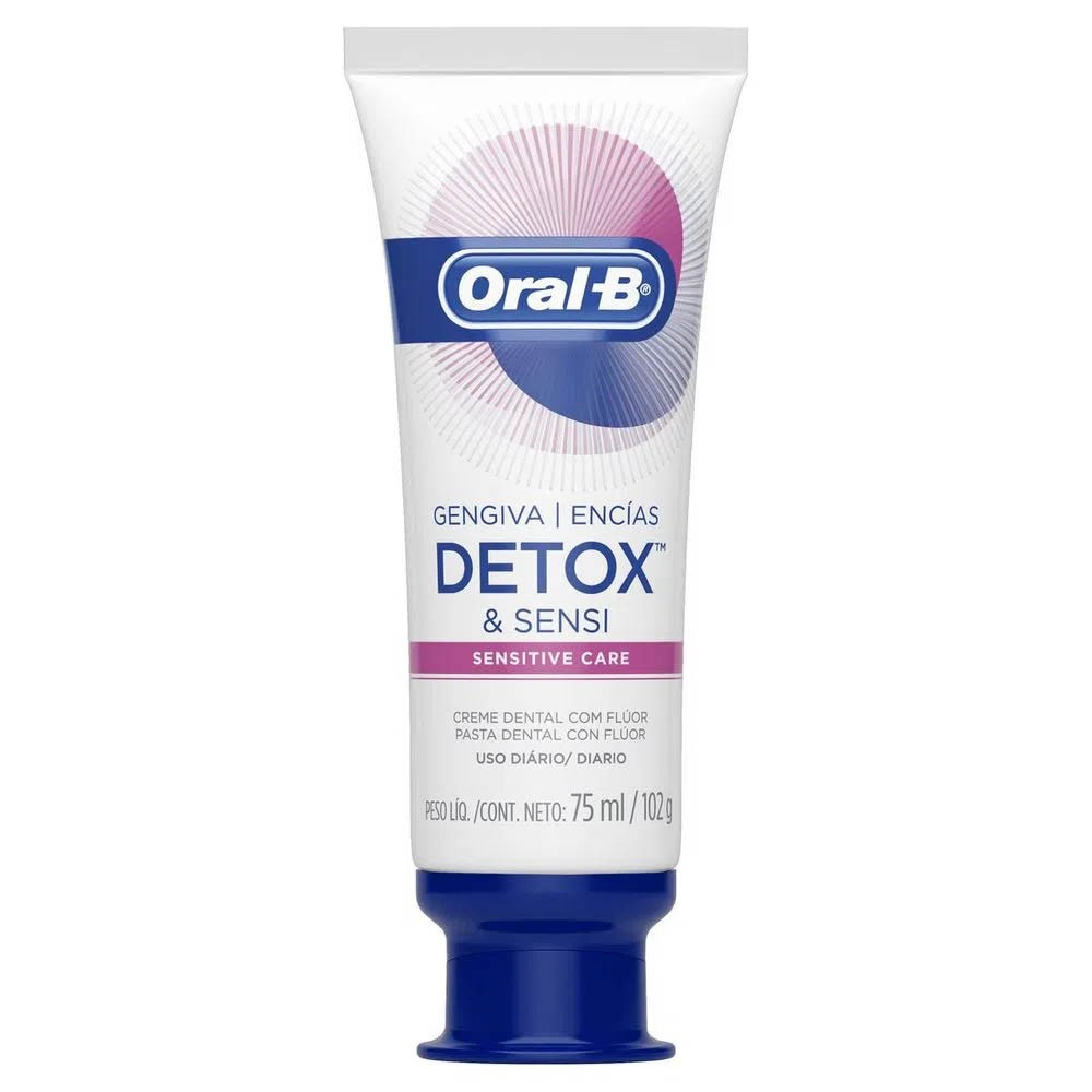 Creme Dental Gengiva Detox Sensitive Care Oral-B