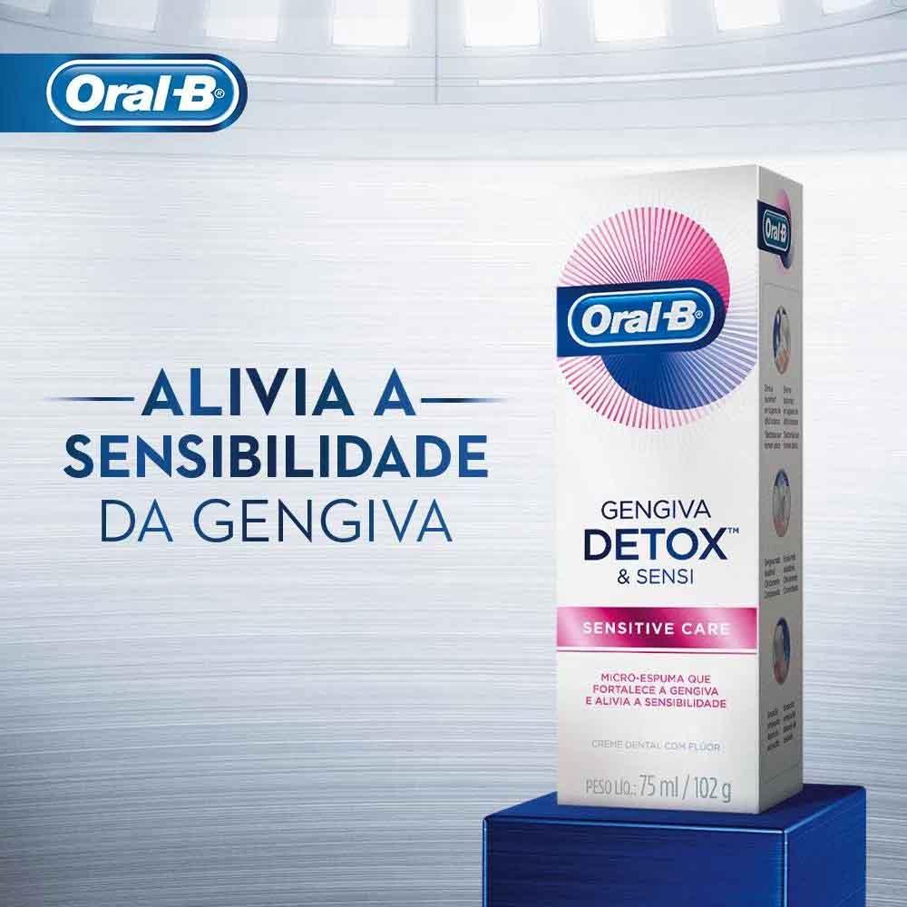 Creme Dental Gengiva Detox Sensitive Care Oral-B