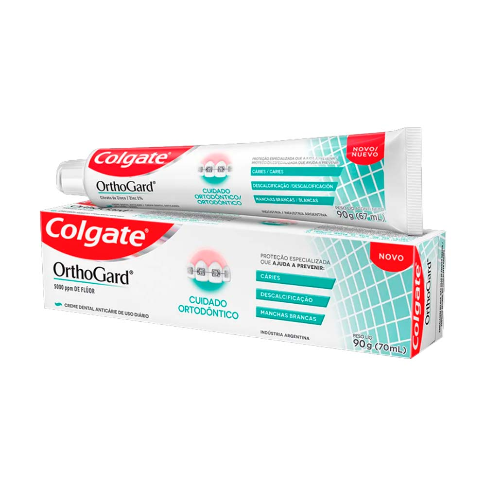 Creme Dental Orthogard 90g - Colgate