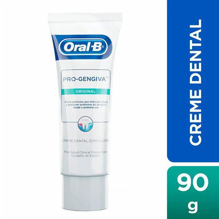 Creme Dental Pro-Gengiva Original Oral-B 90g - Kit com 8 unidades