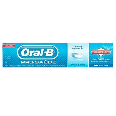 Creme Dental Pro-Saúde Escudo Anti-Açúcar - Oral-B