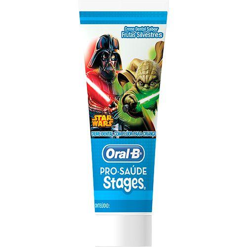 Creme Dental Stages Star Wars Oral-B - 13 unidades