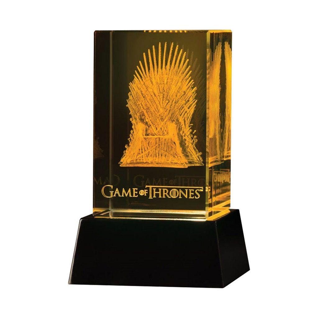 Crystal Iron Throne - Game Of Thrones - Dark Horse Deluxe