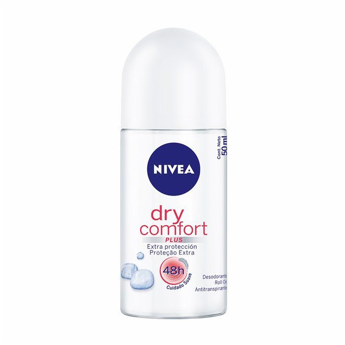 Desodorante Dry Comfort Plus Roll-on Nivea  50 ml - 12 unidades