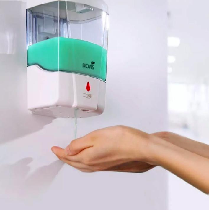 Dispenser Automático Com Sensor Para Sabonete Liquido - Biovis