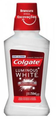 Enxaguante Bucal Luminous White Colgate - 250ml