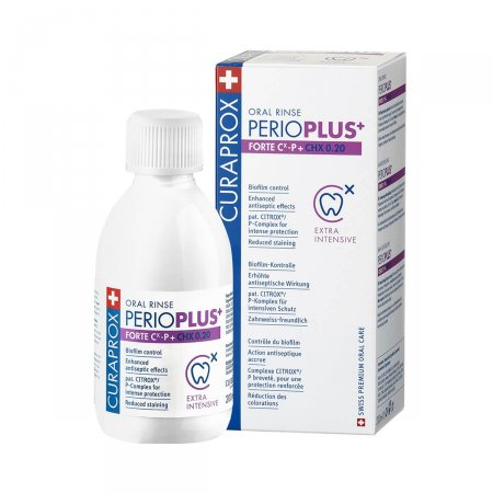 Enxaguatório Bucal Perio Plus+ Forte Curaprox - 100ml