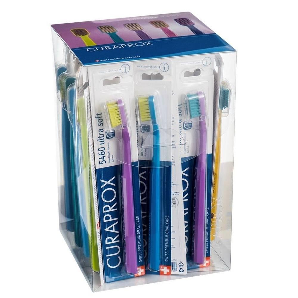 Escova Curaprox Ultra Soft CS 5460B - Kit com 36 Unidades - Original