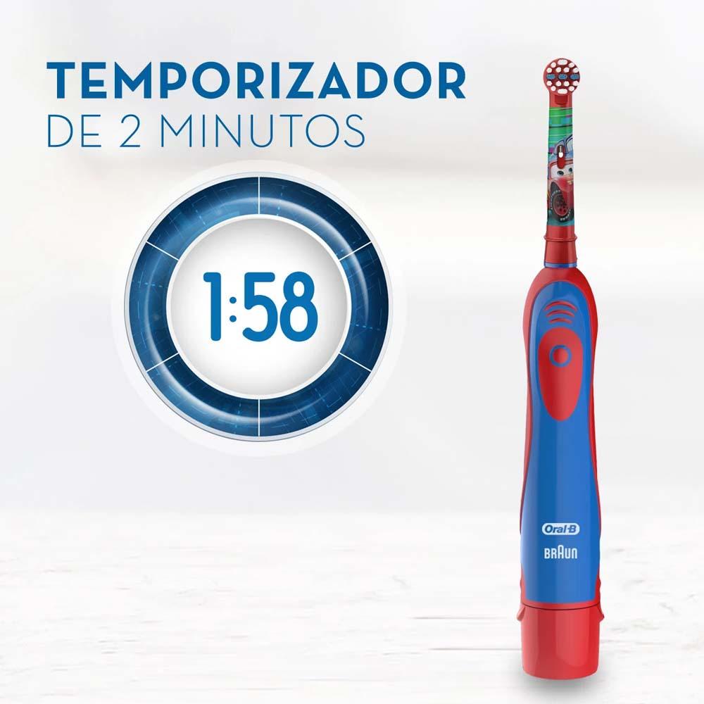 Escova De Dente Eletrica Infantil Carros Oral B