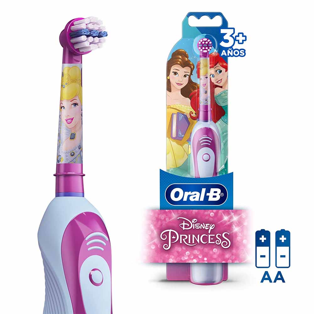 Escova de Dente Elétrica Infantil Princesas - Oral-B