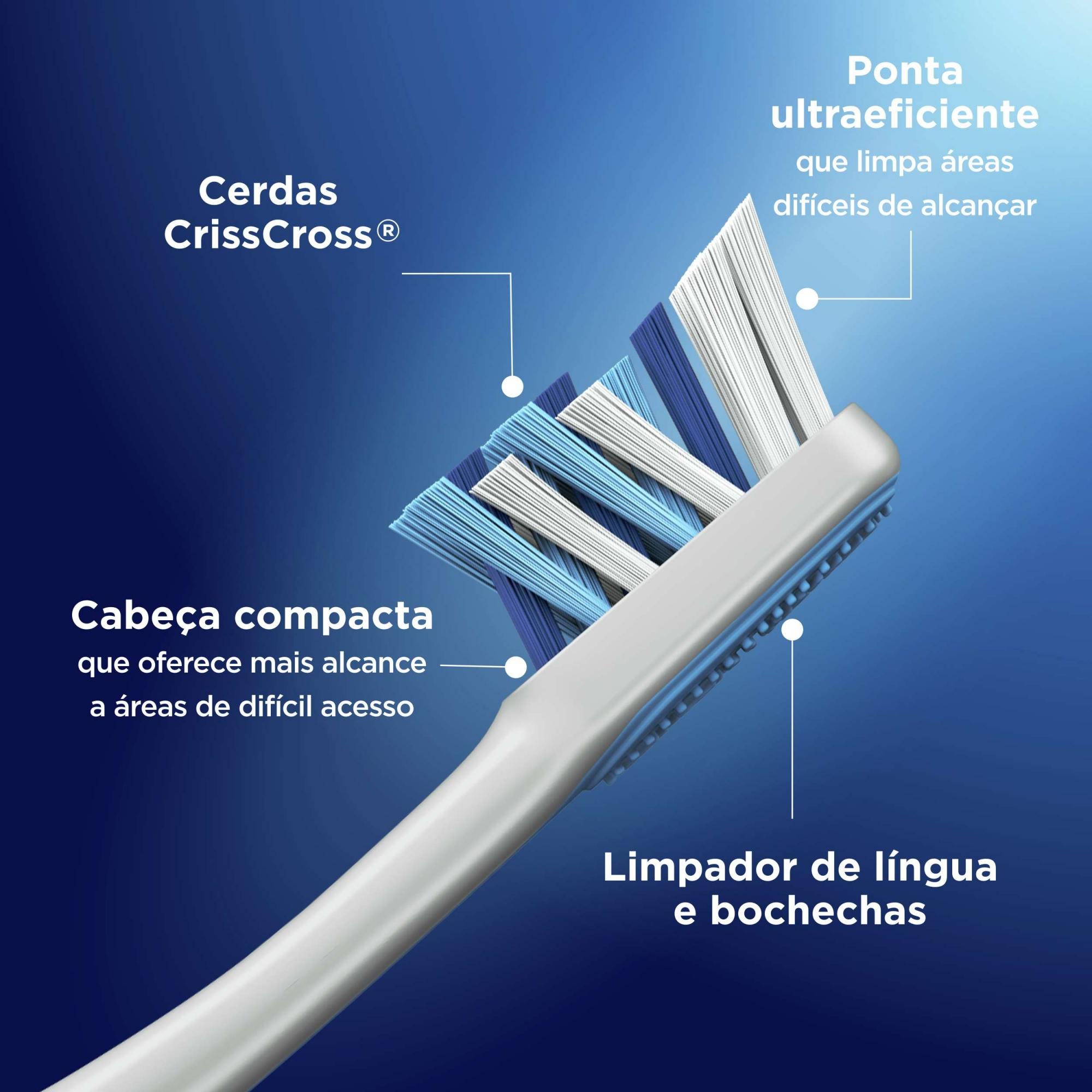 Escova Dental Compact 7 Benefícios - Oral-B
