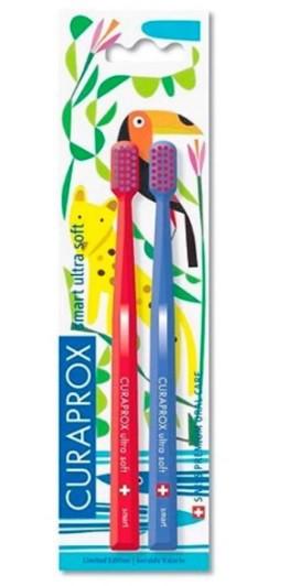 Escova Dental Duo Smart Ultra Soft Curaprox