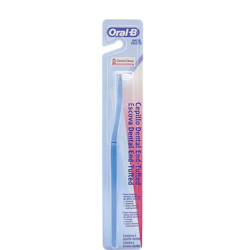 Escova Dental Cônica End Tufted - Oral-B