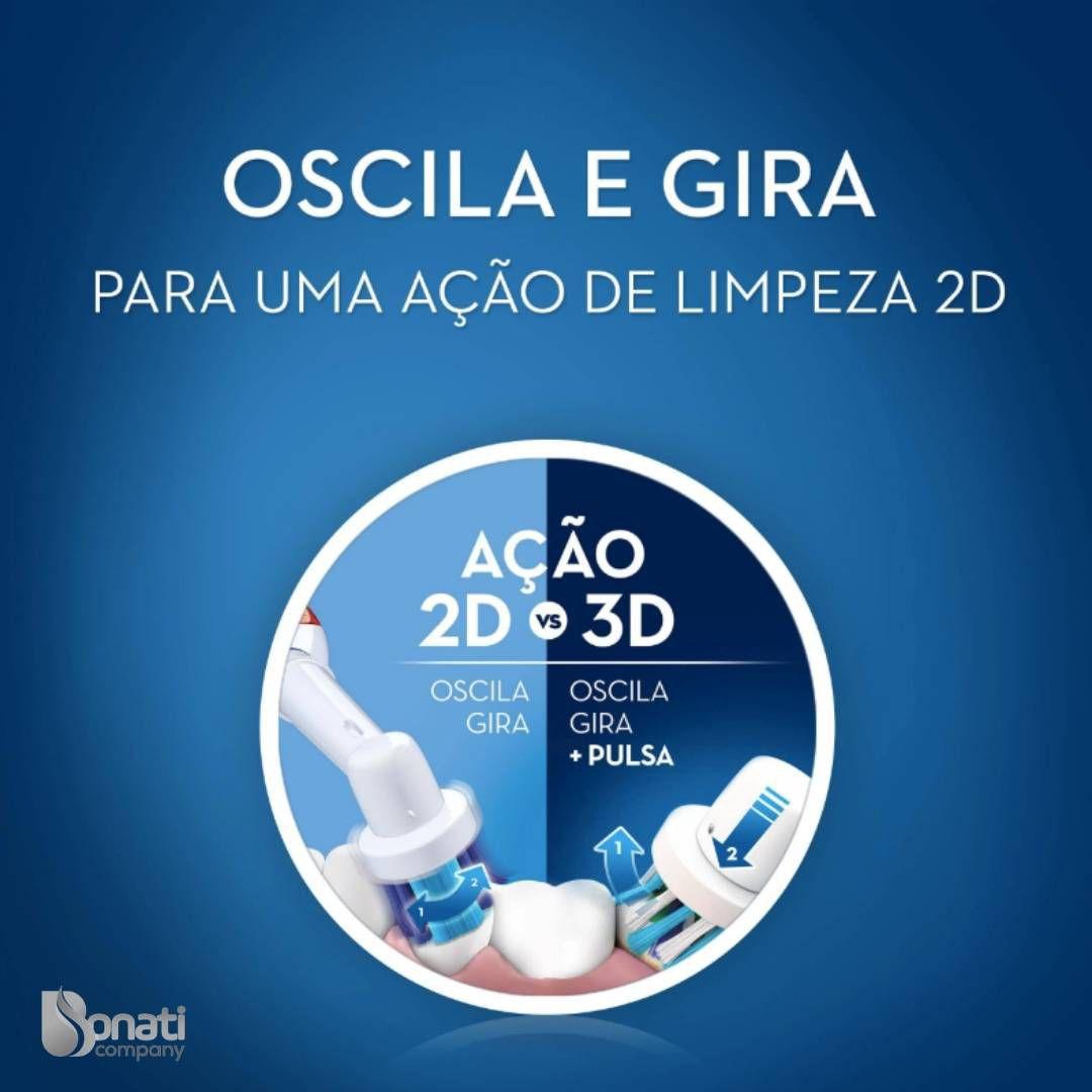 Escova Elétrica D12 Vitality 220v - Oral-B