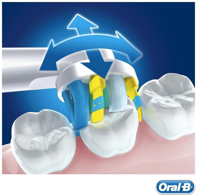 Refil Escova Elétrica Oral-b Floss Action 500 5000 Com 2