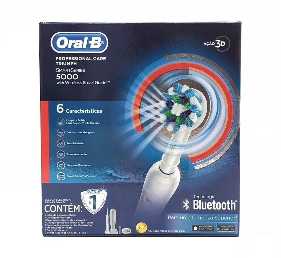 Escova Elétrica Oral-B Professional Care 5000 Bluetooth