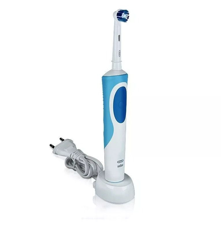 Escova Elétrica Vitality D12 + 4 Refis Precision Clean - Oral-B