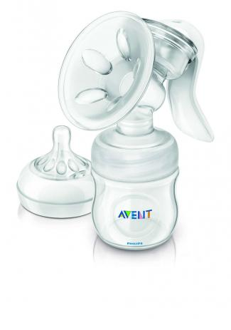 Extrator Manual com Mamadeira Pétala Philips Avent - 125ml
