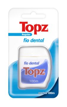 Fio Dental Regular 100m - Topz