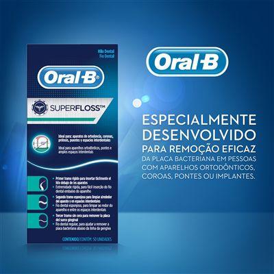 Fio Dental Super Floss Oral-B - 750 tiras
