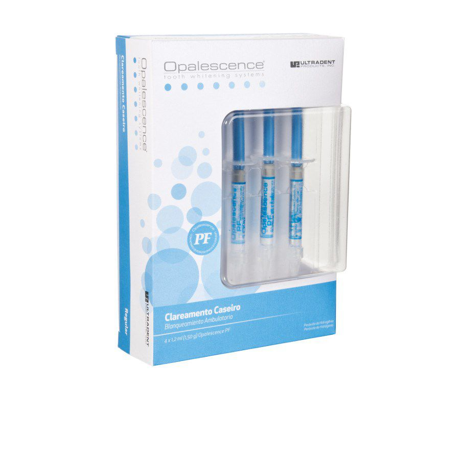 Clareador Opalescence PF Ultradent - Kit com 4 seringas