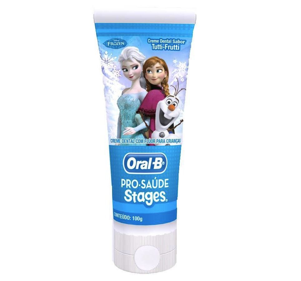 Creme Dental Stages Frozen Oral-B - 3 unidades