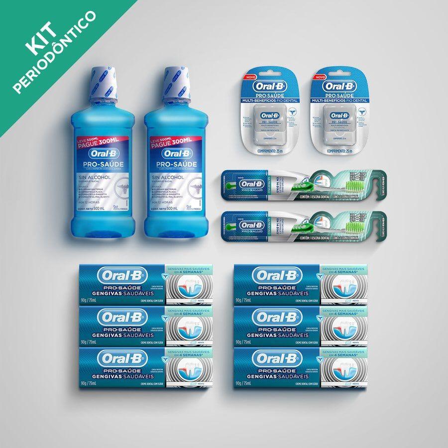 Kit Periodôntico Pró Saúde - Oral-B