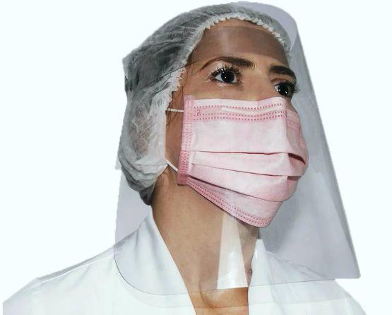 Máscara Protetora Facial Dentsmart - 10 unidades