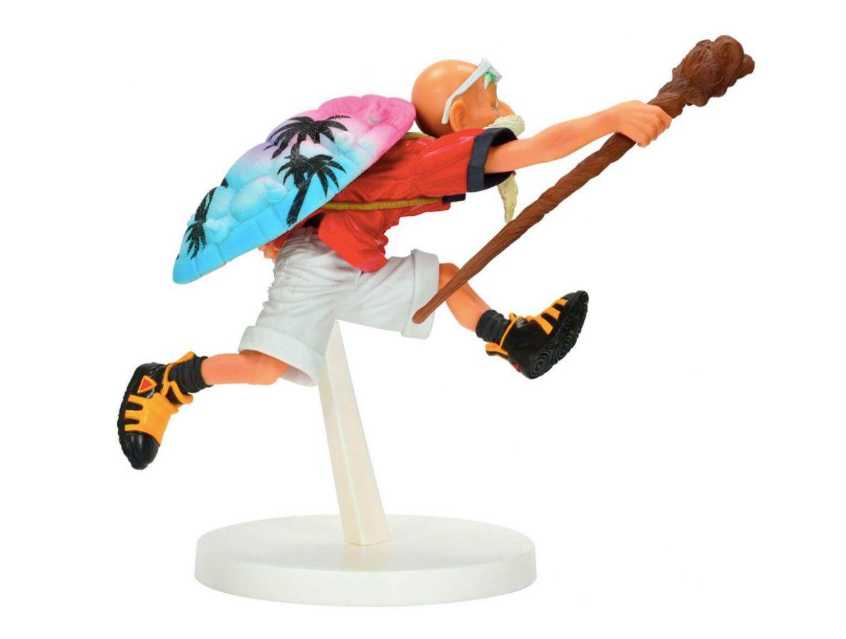Mestre Kame Tropical Color - Dragon Ball  - Bandai Banpresto