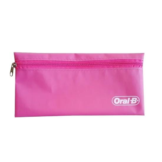 Necessaire de Nylon Rosa Royal - Oral-B