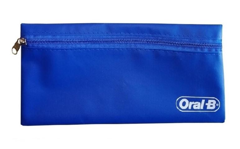 Necessaire de Nylon Azul - Oral-B