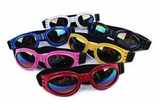 Óculos De Sol Para Cães Com Proteção Uv - Kit com 6 (cores sortidas)
