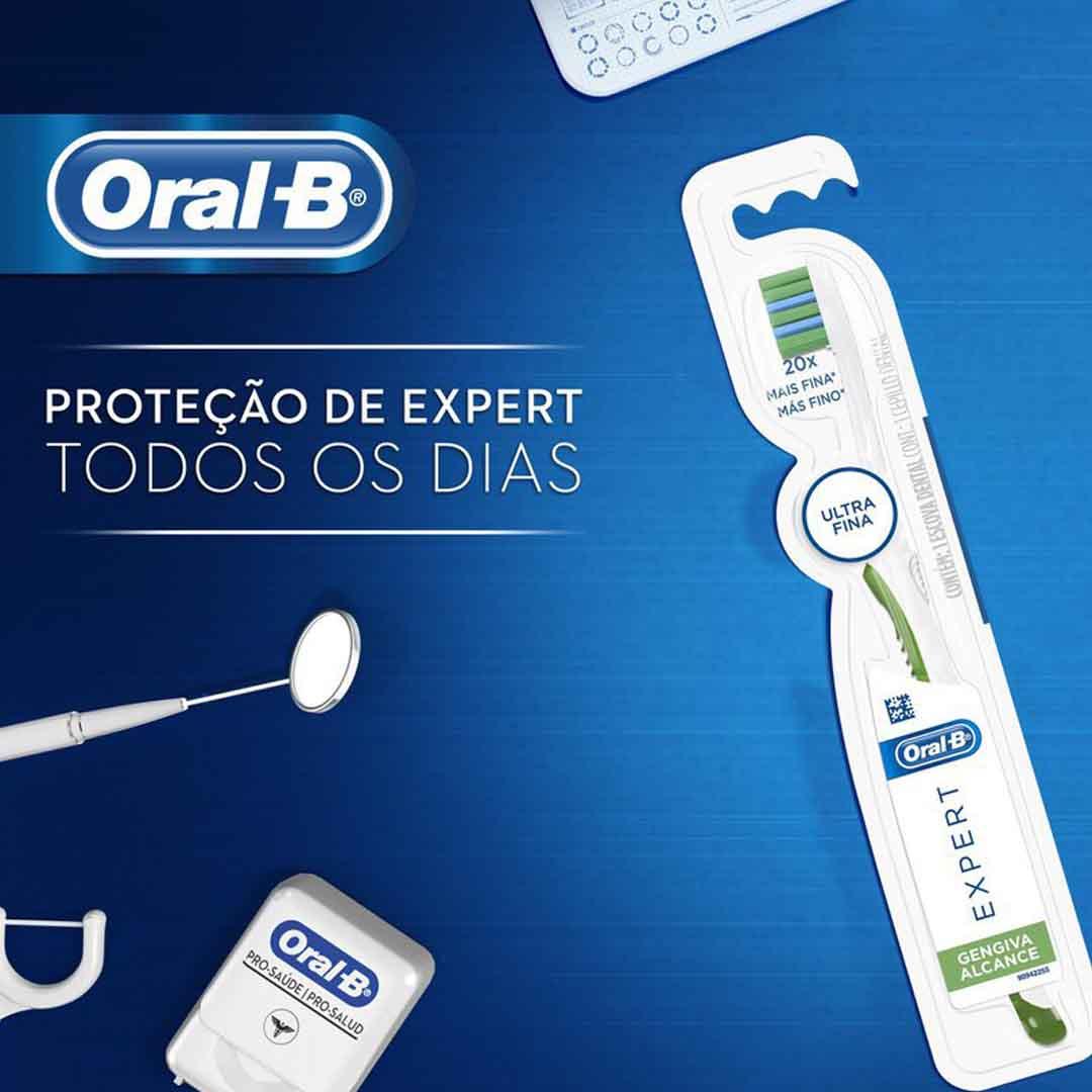 Escova Gengiva Alcance Oral-B