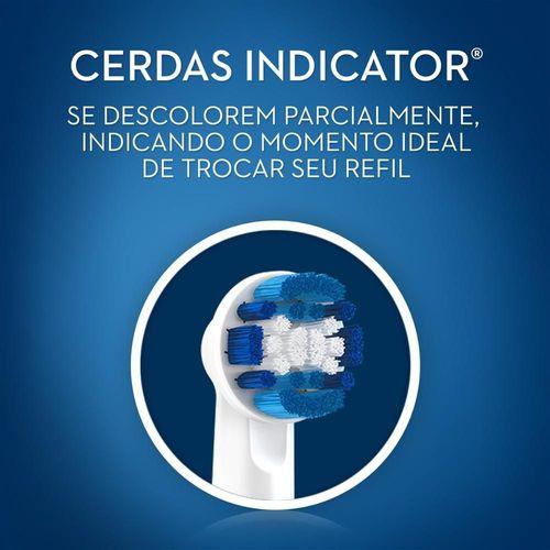 Refil Escova Elétrica Cross Action Oral B - 8 unidades