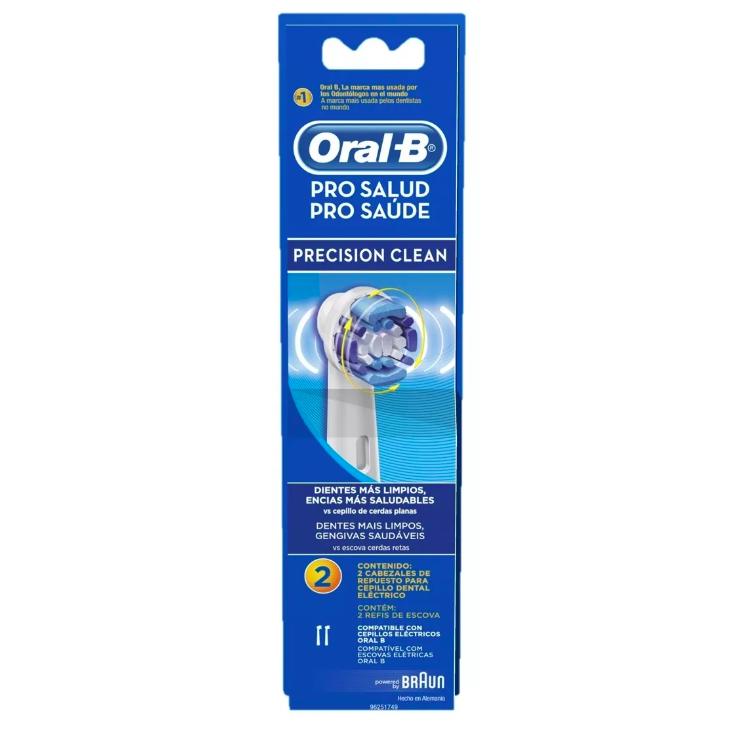 Refil Precision Clean Escova Elétrica 500 5000 Oral-B - 8 unidades