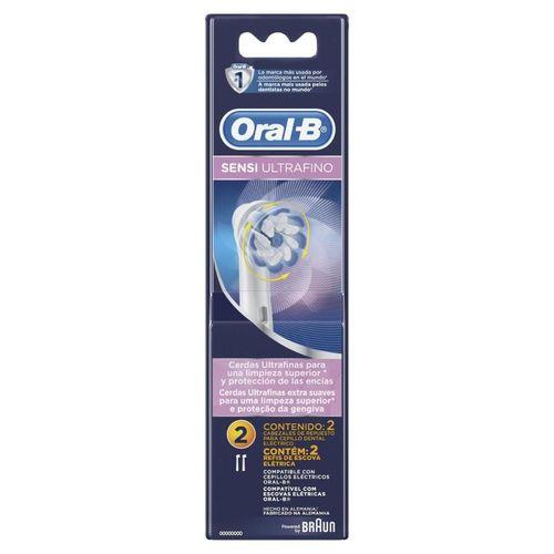 Refil Sensi Ultrafino Oral-B - 2 refis