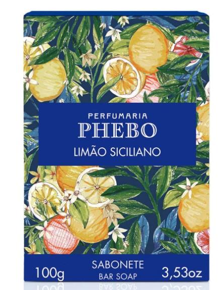 Sabonete em Barra Phebo Origens Limão Siciliano - 90g