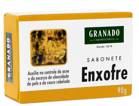 Sabonete Granado Enxofre 90g - Kit com 10 unidades