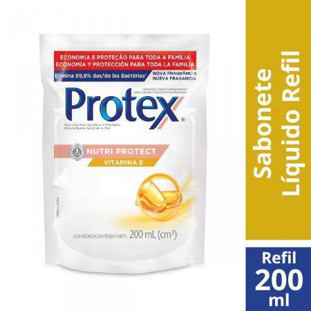 Sabonete Líquido Nutri Protect Protex - Refil 200ml