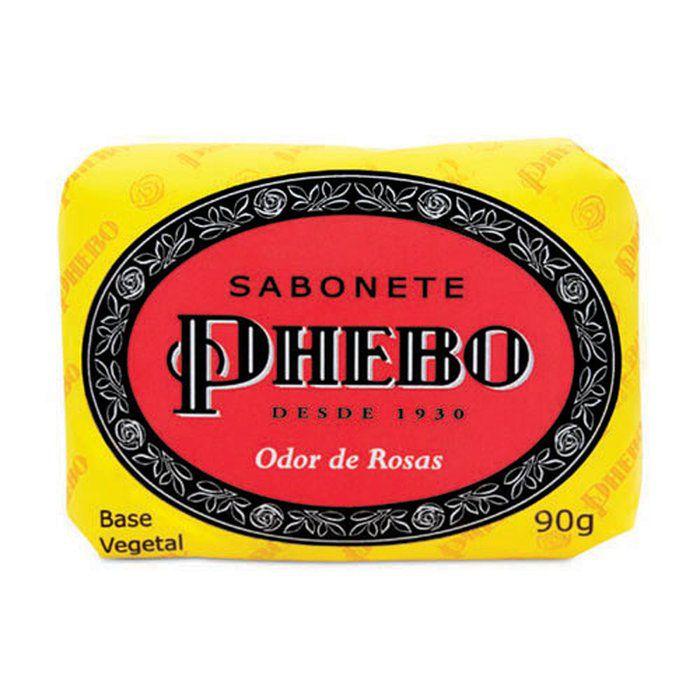 Sabonete Phebo Odor de rosas - 90g