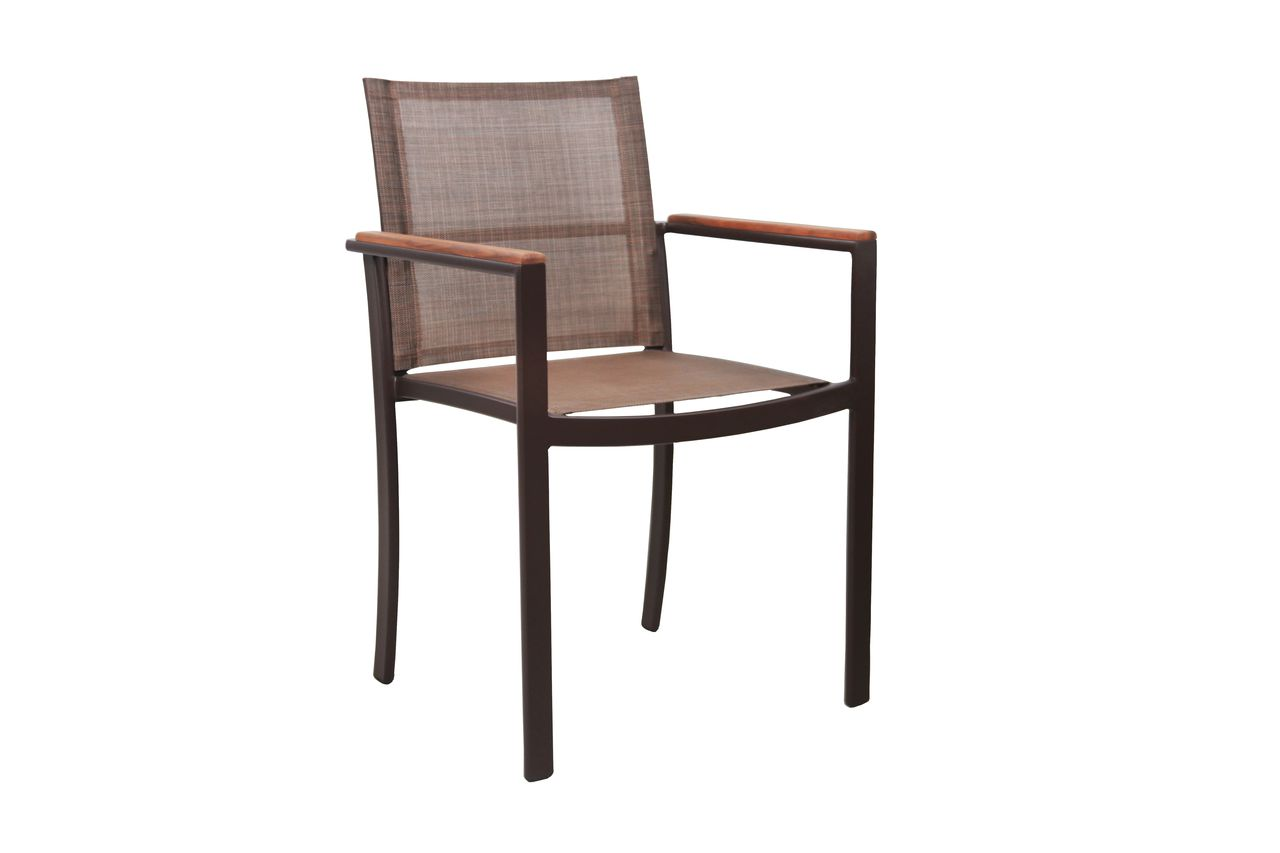 Cadeira Jasmim Tela com Braço
