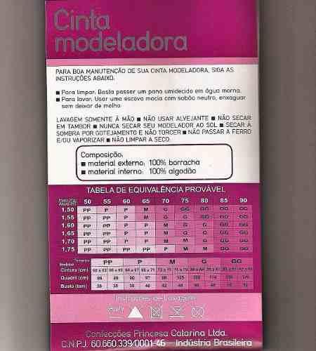 8eec9ded252e88 2 Cinta Faixa Modeladora E Redutora Emborrachada Princesa Catarina ...