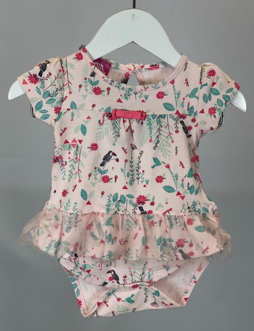Body Cotton com Estampa Flamingo - Andrimalhas